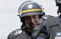 Sticker other larry silverstein la chance police gilbert crs gendarme decadent fion matraque manifestation gauchos greve