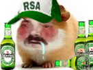 Sticker risitas cochon dinde hamster rongeur prolo cute mignon adorable atome