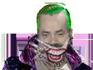 Sticker joker risitas slimkane batman