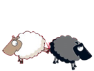 Sticker politic suisse droite udc mouton noir
