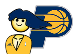Sticker risitas nba indiana pacers master race maitre course sticker
