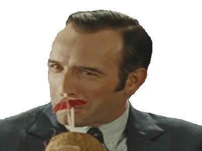 Sticker other oss 117 hubert exdark boisson boire coco