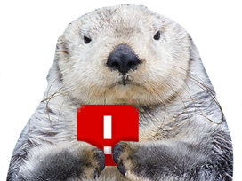 Sticker other loutre ddb ban