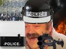 Sticker risitas crs police