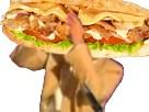 Sticker ramadan kebab jesus