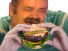 Sticker ramadan risitas issou hamburger