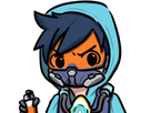 Sticker other overwatch tracer tag