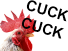 Sticker risitas cuck coq poule poulet