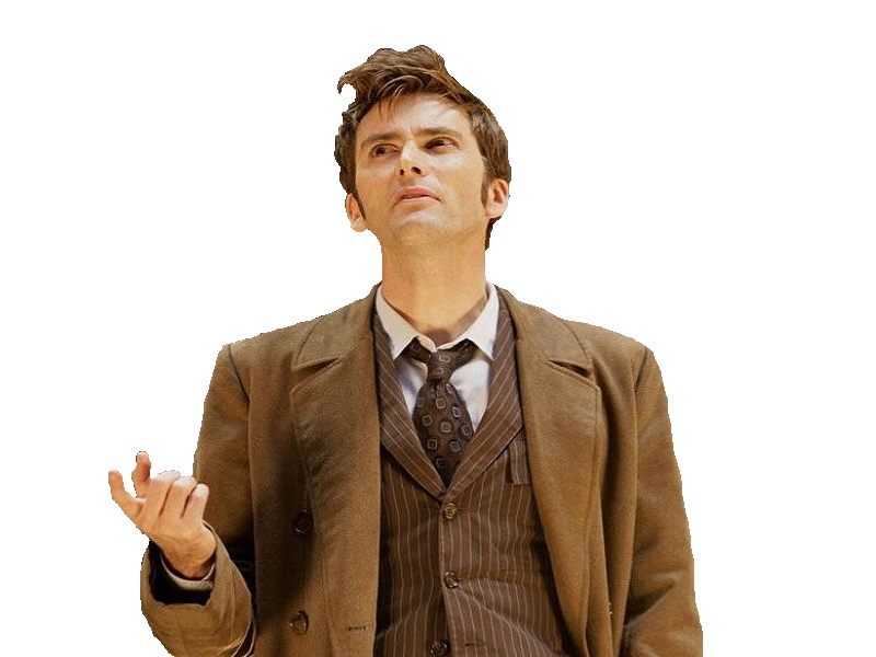 Sticker other doctor who question david tennant doute