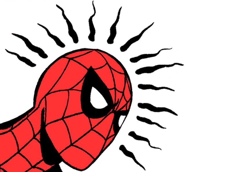 Sticker other spider sense spider man spidey alerte