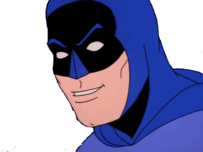 Sticker risitas batman rire lol mdr signaleur hap