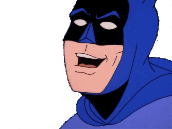 Sticker other batman signaleur rire hahaha lol mdr