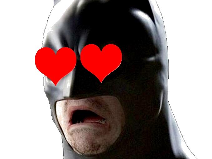 Sticker other signaleur batman love coeur jtm bandante fap aime