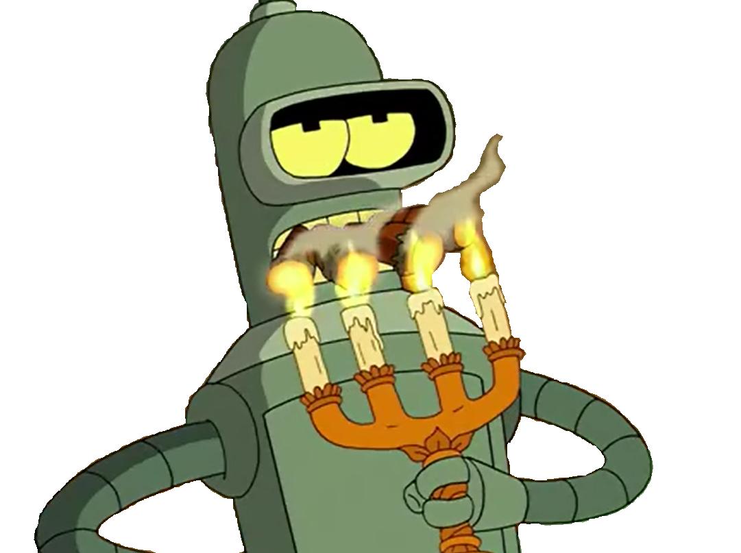 Sticker other bender futurama cigare fume fumee fumer chandelier