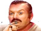 Sticker docteur denfer austin powers doigt main index risitas