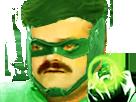 Sticker risitas dc green lantern