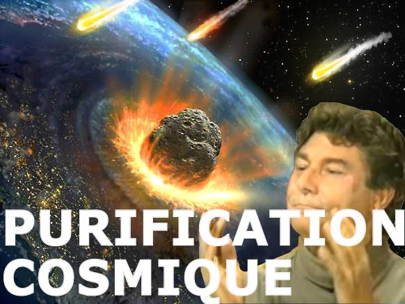 Sticker risitas purification cosmique alerte nucleaire guerre ww3 atome meteorite espace asteroide explosion