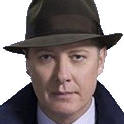 Sticker other raymond reddington blacklist chapeau lunettes