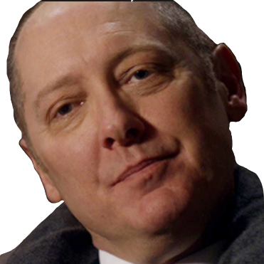 Sticker other raymond reddington blacklist chapeau lunettes