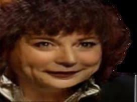 Sticker risitas jesus femme cheveux rouge levres sourire faceapp trans