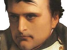 Sticker politic napoleon france patriote