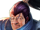 Sticker risitas league of legends lol champion samurai samourai yasuo hasagi yasou yassou yassuo larry silverstein la chance veine aubaine hasard coincidence