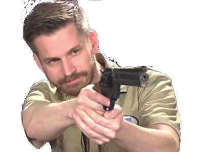 Sticker other revolver blanc 1