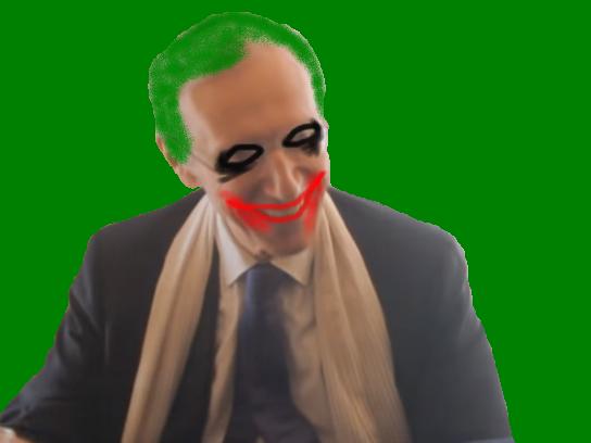 Sticker politic henri de lesquen joker