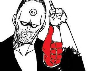 Sticker kikoojap vtf doigt honneur pouce rouge vtf fairy tail jacob wtf aime pas