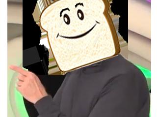Sticker other tranche de pain soral