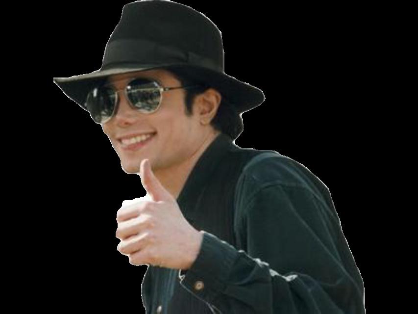 Sticker jvc risitas thumbs up ok cool michael jackson mjj chanteur musique music pop dance rire sourire smile rock issou