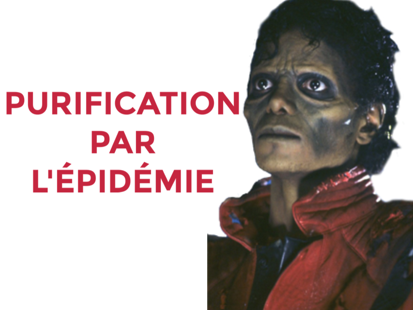 Sticker jvc risitas michael jackson mjj chanteur musique music pop dance rire sourire smile rock issou purification zombie apocalypse epidemie virus peur monstre