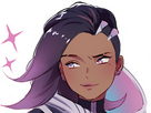 Sticker other overwatch sombra blizzard