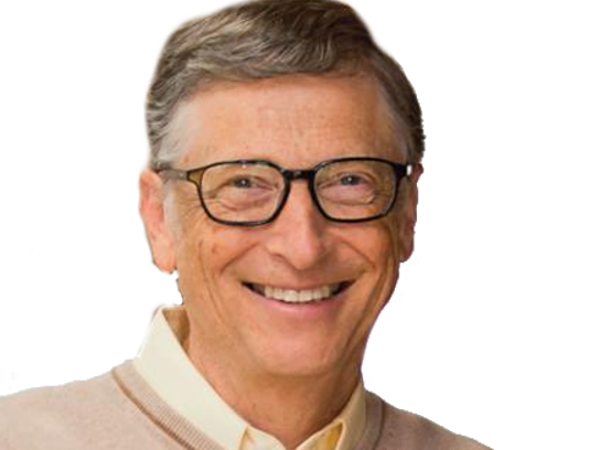 Sticker other bill gates riche prolo rsa argent