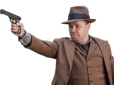Sticker other al capone boardwalk empire gun badass