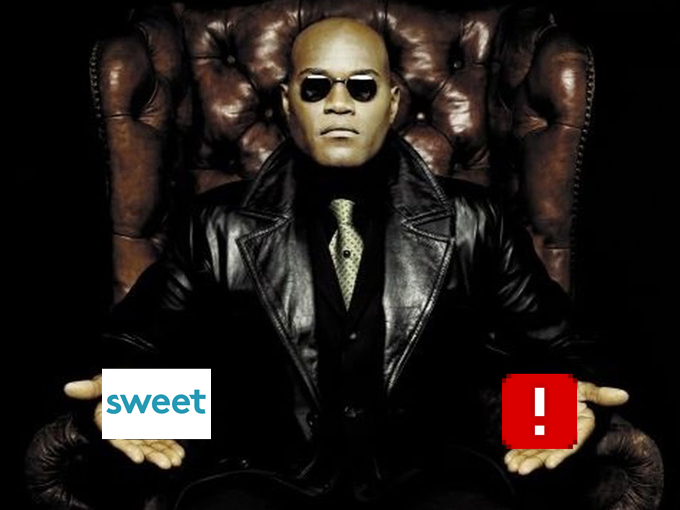 Sticker other sweet ddb morpheus matrix