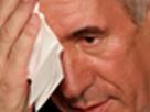 Sticker politic francois bayrou sueur zoom