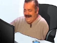 Sticker risitas bureau pc rsa wojak rigole ecran ordinateur