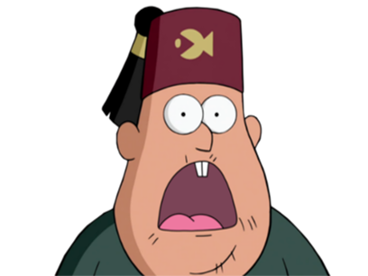 Sticker other soos gravity falls moos chapeau