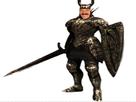 Sticker risitas dark souls chevalier noir templier