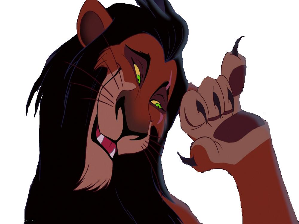 Sticker other roi lion scar mechant