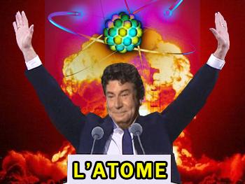 Sticker risitas jesus atome lelite ww3 alerte nucleaire bombe atomique purification