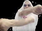 Sticker risitas alk alkpote serviette lunette rap fr