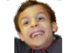 Sticker politic emmanuel macron enfant jeune dynamique sourire mouchoire faceapp bebe