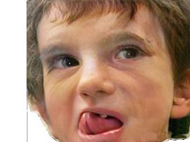 Sticker politic jack lang langue pervers enfant bebe jeune faceapp pedophile