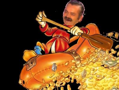 Sticker risitas picssou hargent bitcoin fric riche picsou monaie poker hold cryptomonaie rsa