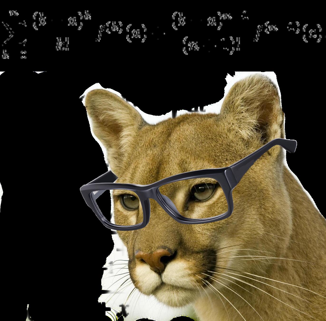 Sticker other prepa colleur cassini x centrale mines felin puma lunettes