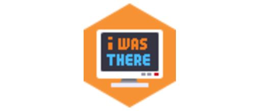 Sticker risitas i was there