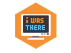 Sticker jvc i was there