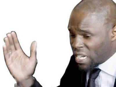 Sticker politic kemi seba giffle baffe afro insolent